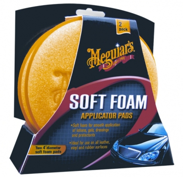 Meguiar's Soft Foam Applicator Pads - Schwamm